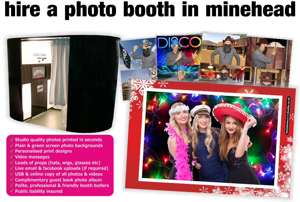 Photobooth & Photo Booth Hire, Minehead, Somerset